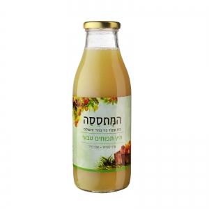 מיץ תפוחים (גרני סמית חמצמצים) קטן - טבעי
