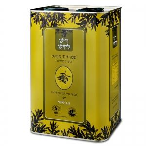 שמן זית אורגני-בלנד ארומטי 3.5 ליטר